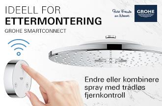 Grohe | Smartconnect, Smart connect | hodedusj | fjernkontroll