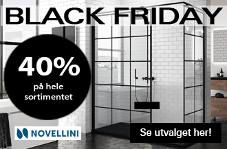 Black Friday Novellini dusjkabinett
